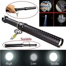 2000 Lumen Q5 LED blinkende Aluminium-Taschenlampe wasserdicht leistungsstarke LED Taschenlampe f/ür Outdoor Camping Abenteuer schwarz