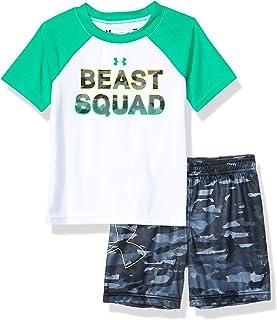 Under Armour Short Sleeve tee and Pant Set Juego de Camisetas, Niños