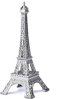 JoyFamily Eiffel Tower Decor,7Inch (18cm) Metal Paris Eiffel Tower Statue Figurine..