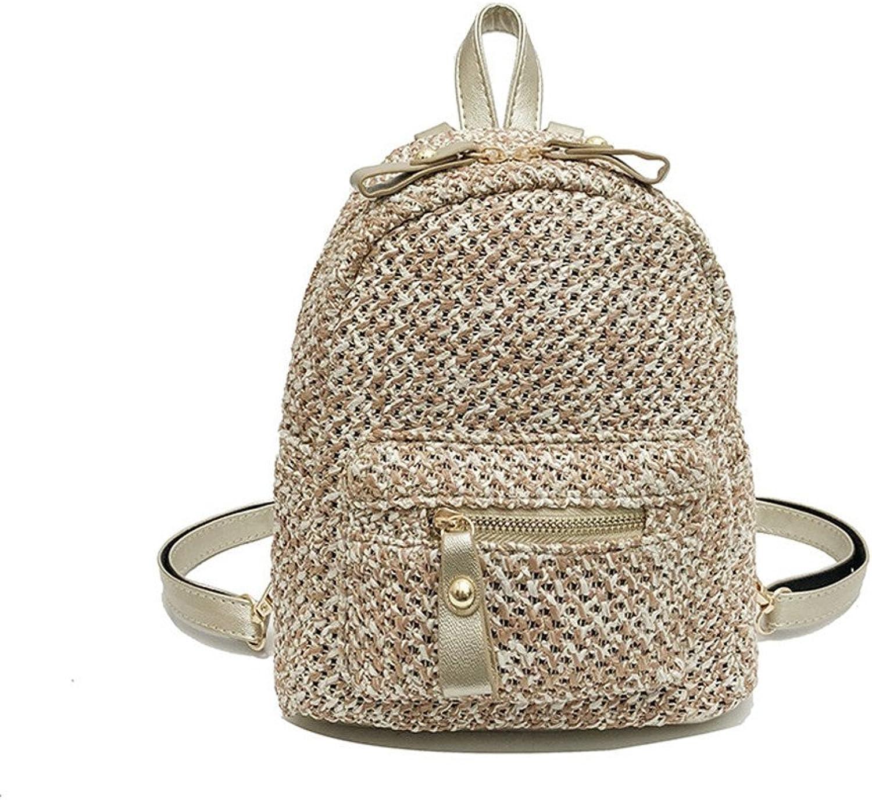 Meaeo Studenten - - - Rucksack Stroh Aus Tasche Umhängetasche Mode - Studentin Casual Entertainment,B B07DY9SMX4  Moderne und elegante Mode 467302