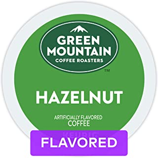 Green Mountain Coffee Roasters Hazelnut Keurig Single-Serve K-Cup pods, Light Roast Coffee, 72 Count