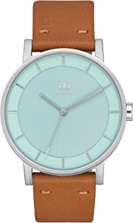 Watches District_L1. Genuine Leather Strap Watch, 20mm Width (40mm)
