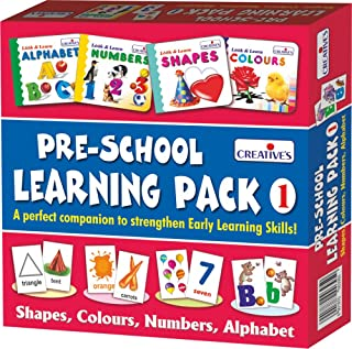 Creative's Education Pre-School Learning, Pack 1 (Shapes, Colours, Numbers and Alphabet)