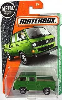 Matchbox 2017 Volkswagen Transporter Cab 95/125, Green (No Tools in Bed of Truck)