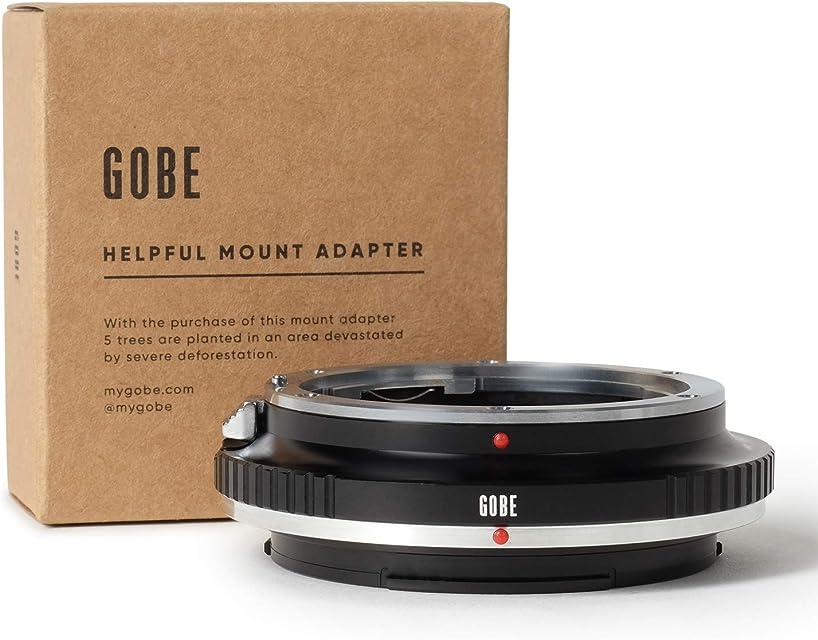 Gobe - Adaptador de Lente Compatible para Lentes Canon EOS (EF/EF-S) y cuerpos de cámara Fujifilm G