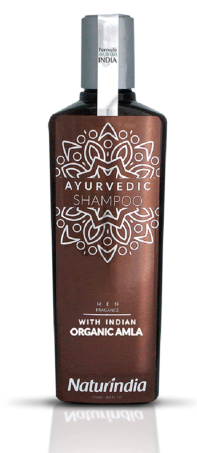 Naturindia Manufacturer direct delivery Ayurvedic Shampoo Popular overseas for Men DH Growth Hair ORGANIC AMLA
