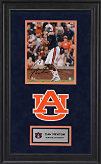 Cam Newton Auburn Tigers Deluxe Framed Autographed 16