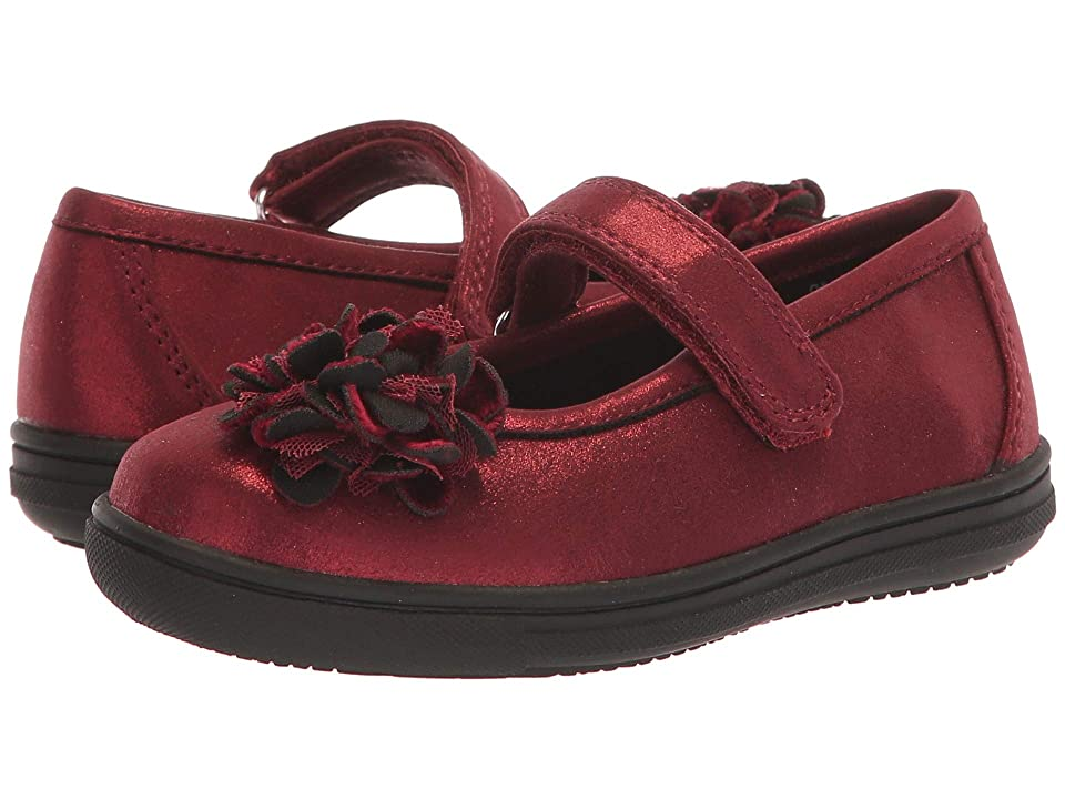 Rachel Kids Giovanna (Toddler/Little Kid) (Burgundy Shimmer) Girl