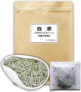 本場福建産 2020年有機白茶 ホワイトティー 福鼎白豪銀針 ティーバッグ31包( 強力な抗酸化物質が豊富 )