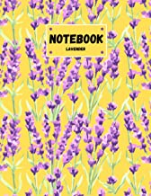 LAVENDER NOTEBOOK: Plain Notebook Simple Journal.(8.5x11 inches) - 100 Pages || Notebook For You