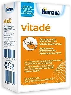 Vitadé - Suplemento Alimenticio con Vitamina D y DHA. 15 ml