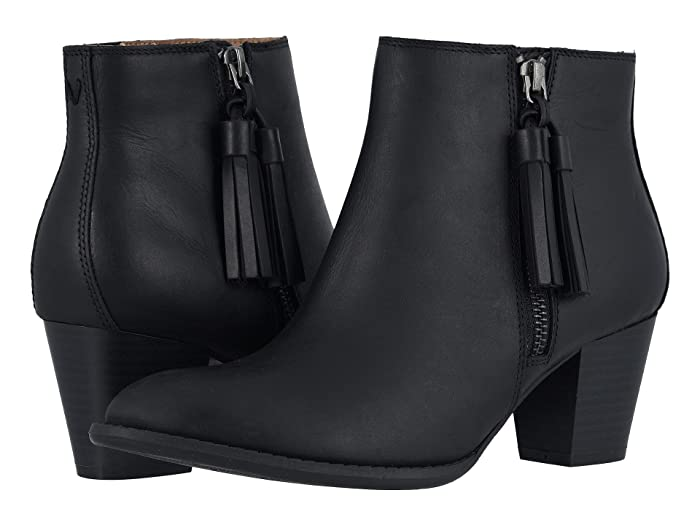 VIONIC  Madeline (Black Leather) Womens Boots