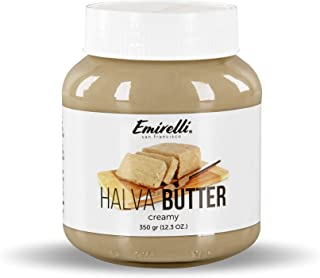 Emirelli Halva Butter (Original Turkish Halwa) –Delicious Spread Made from Natural Sesame Paste – Melts in Mouth – Soft Cr...