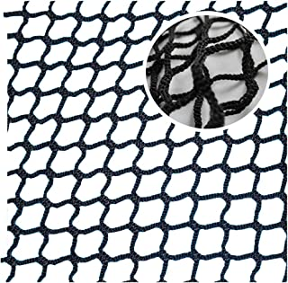Black Balcony Net,Ball Stop Baby Stair Net Balcony Safety Kids Railing Ball Stopping Netting Nylon Backstop Goal Net Nets Golf Course Barrier Replacement Protection Rope Children Stairs Indoor Outdoor