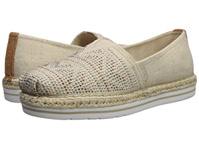 BOBS from SKECHERS Bobs Breeze Moonbeams Stars (Natural Multi) Women