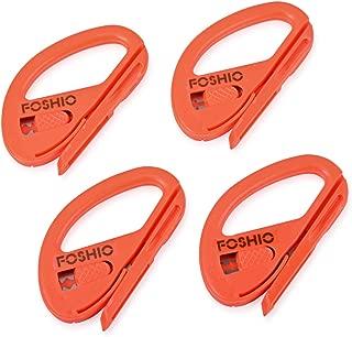 FOSHIO 4Pack Orange Automotive Vinyl Wraps Cutter Craft Knife Utility Knives for window Tinting Kits