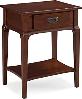 Leick 22022 Contemporary Stratus Night Stand with Drawer