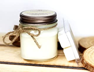 Bourbon Butterscotch - 8 oz Jar Natural Soy Candle & Wax Melt