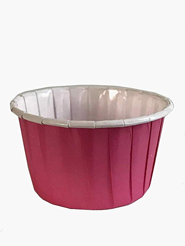 Pink Paper Cups 2 5 Inches Cupcake Holders Muffin Baking Liners 100