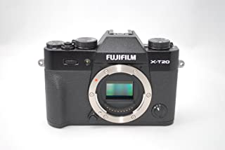 فوجي فيلم X-T20 - 24.3 ميجابكسل كاميرا رقمية ميرورليس مع عدسة اكس18- 55 ملم F2.8-4 R LM او اي اس، اسود
