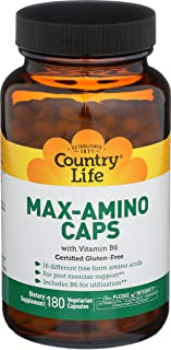 Country Life, Max Amino, 180 Count