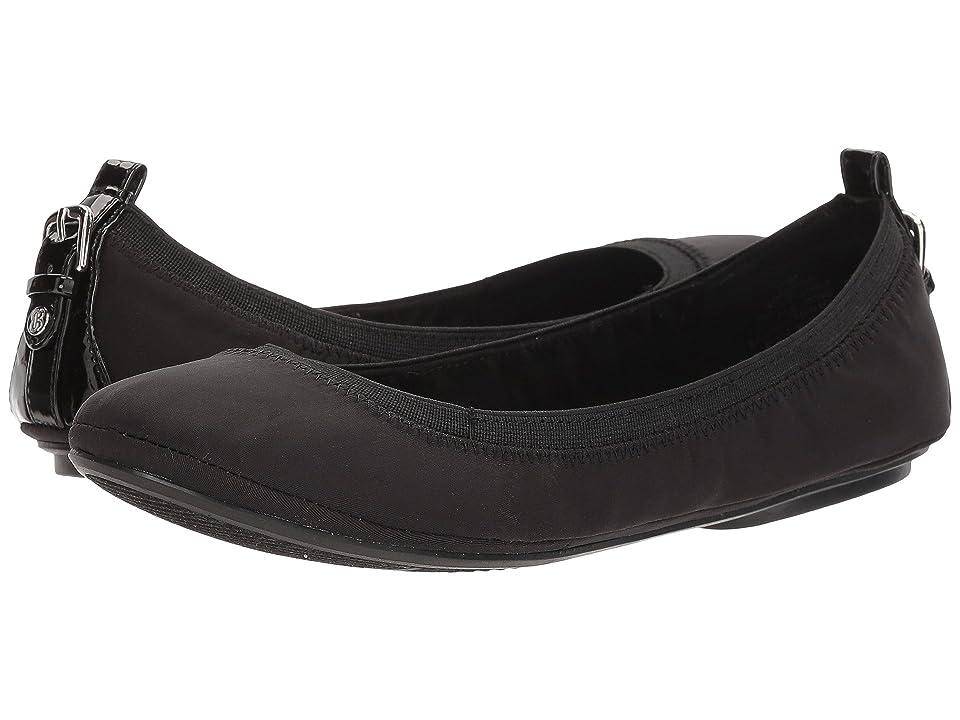 Bandolino Edina (Black Lycra/Patent PU/Sleek Elastic) Women