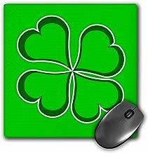 3dRose LLC 8x 8x 0. 25بوصة Lucky والأخضر أربع ورقات من نبات البرسيم لوحة ماوس (MP _ _ _ _ _ _ _ 77560_ _ _ _ _ _ _ 1)