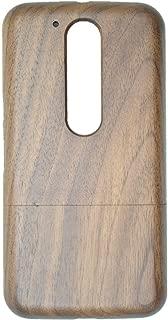 Motorola Moto G4 / G4 Plus Wood Case, PhantomSky Premium Quality Handmade Natural Wooden Cover for Your Smartphone - Walnutwood