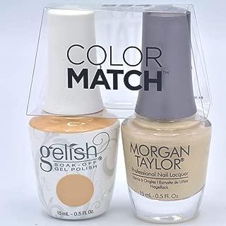 Gelish Gel Polish & Morgan Taylor Nail Polish Duo 1110854 Need A Tan