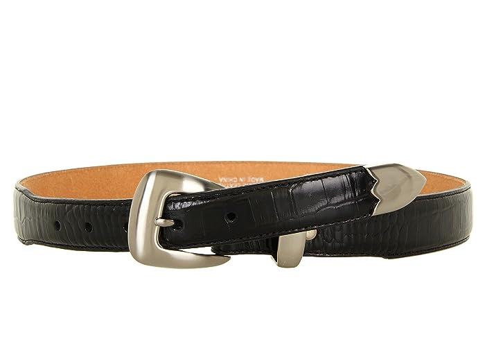 M F Western Classic Gator Belt
