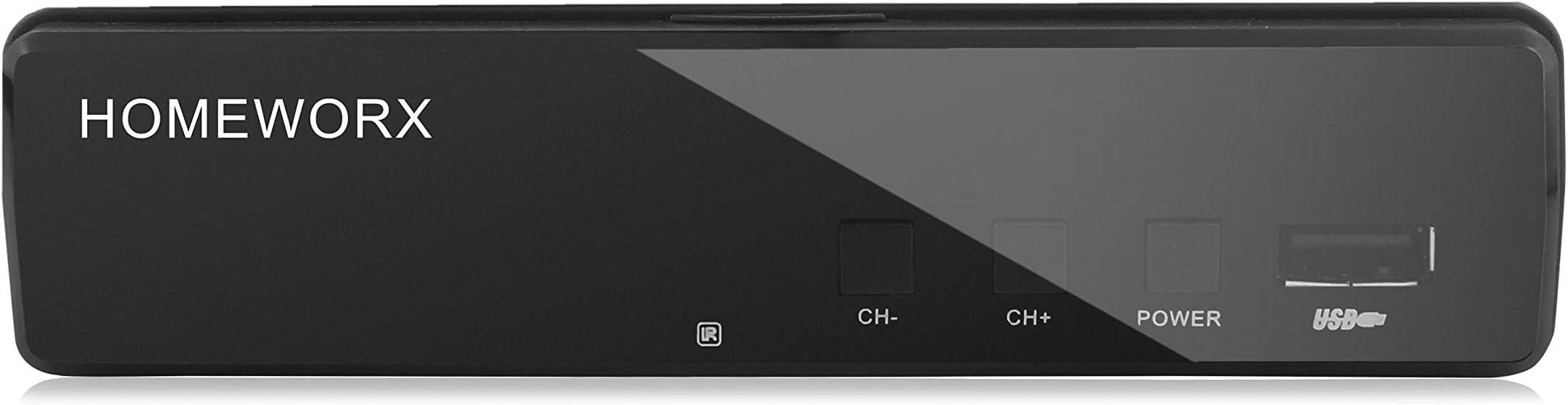 Mediasonic ATSC Digital Converter Box with TV Tuner Function (HW130RN)
