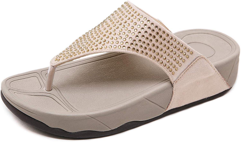 Las Vegas Mall ZAPZEAL Platform Large discharge sale Sandals for Women Rhine Wedge Heeled Flops Flip