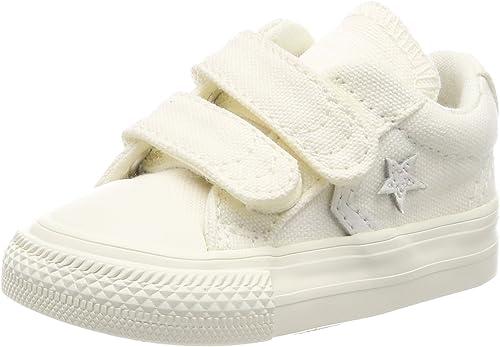 Converse Lifestyle Star Player Ev 2v Ox Canvas, Chaussures de Fitness Mixte Enfant