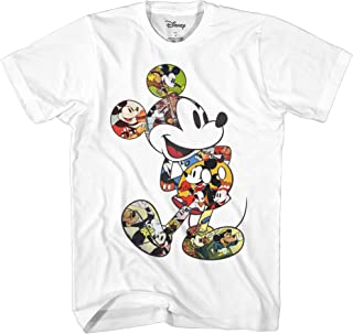 Mickey Mouse Scene Me Vintage Classic Disneyland World Men's Adult Graphic T-Shirt
