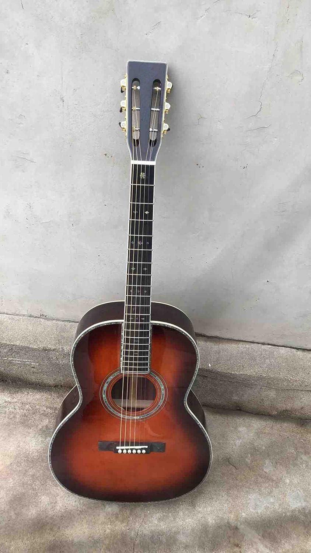 Guitarra Panel de Abeto sólido de 39 Pulgadas de Estilo acústico Guitarra eléctrica Guitarra clásica Principiante de Guitarra acústica Guitarra de Madera AMINÍ (Color : Guitar, Size : 39 Inches)