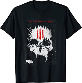 War for the Planet of the Apes Only War T Shirt