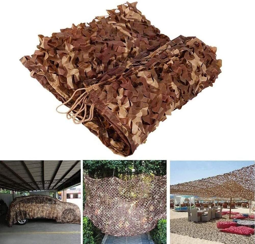 Hyffdj Outdoor Hunting Military Camouflage Manufacturer regenerated product Boston Mall Net Woodland Ox Den -