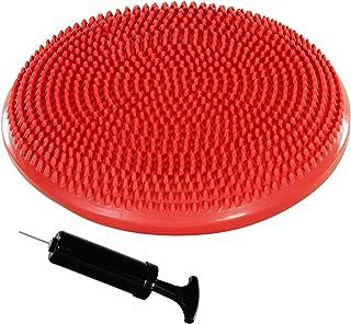 Movit Balle-Coussin »Dynamic Seat« avec Pompe sans phtalate Coussin Ballon d'assise por Pilates, Yoga, Coussin bourrelet 1...