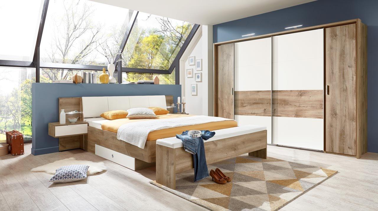 lifestyle20living Schlafzimmer, Schlafzimmermöbel, Set komplett