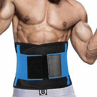 Taille Trainer Voor Dames En Heren, Neopreen Zweetband Taille Trimmer Riem Afslanken Maag Wrap Voor Workout, Taille Trimme...