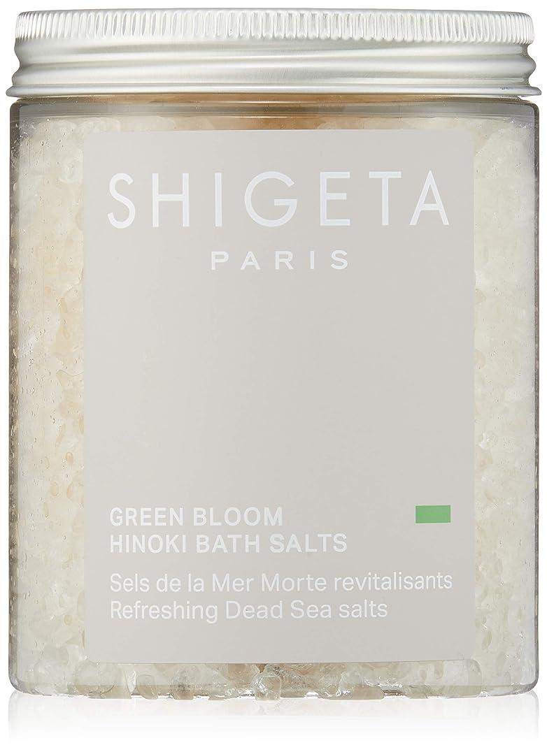 試験連帯絶縁するSHIGETA(シゲタ) グリーンブルーム バスソルト 285g