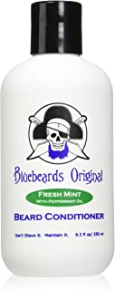 Bluebeards Original Fresh Mint Beard Conditioner with Peppermint Oil, 8.5 OZ