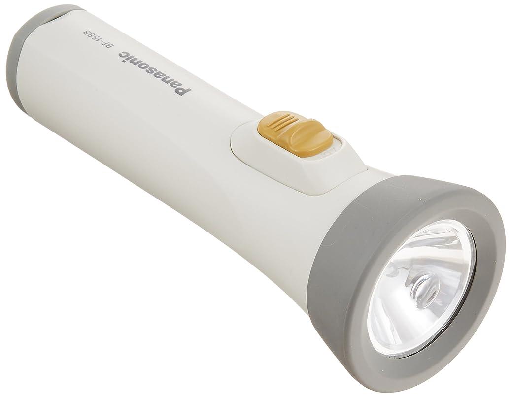 蘇生する生きる対応するパナソニック LED懐中電灯 ホワイト BF-158BF-W