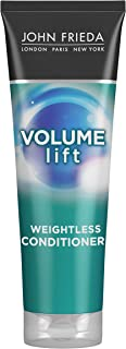 John Frieda Volume Lift Lightweight Conditioner for Natural Fullness, 8.45 Ounces, Safe for Colour-Treated Hair, Volumizing Conditioner for Fine or Flat Hair