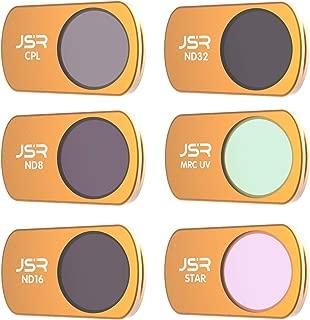 LICHIFIT DJI Mavic Mini 対応フィルター STAR+CPL+UV+ND8+ND16+ND32セット mavic mini カメラレンズフィルター レンズ保護 光学ガラス アクセサリー 6個セット