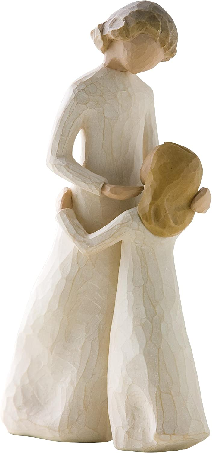 Willow Tree Father and Daughter Figurine /& Tree Mother and Daughter Figurine