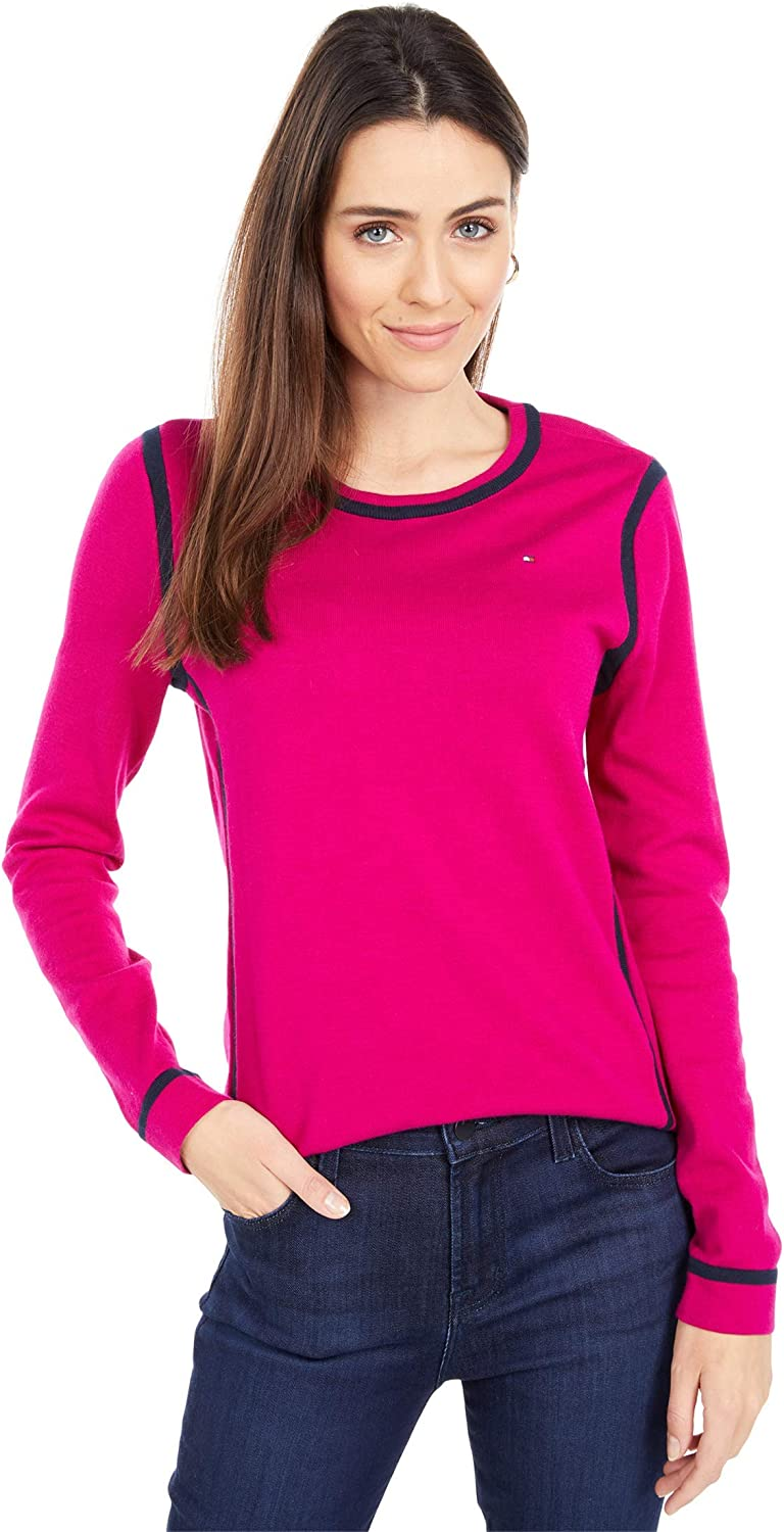 Tommy Hilfiger Crew Neck Sweater w/Tipping