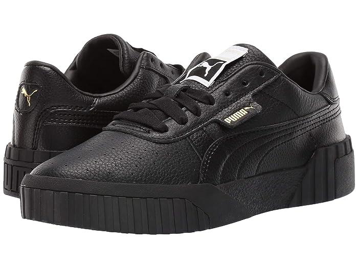 Puma Cali trainers in triple black | Puma cali, Triple black