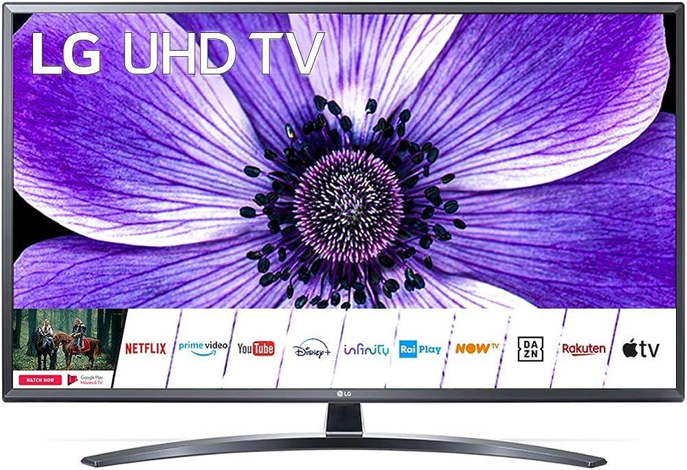 Lg 4k ultra hd smart tv wi-fi 43UN74006LB