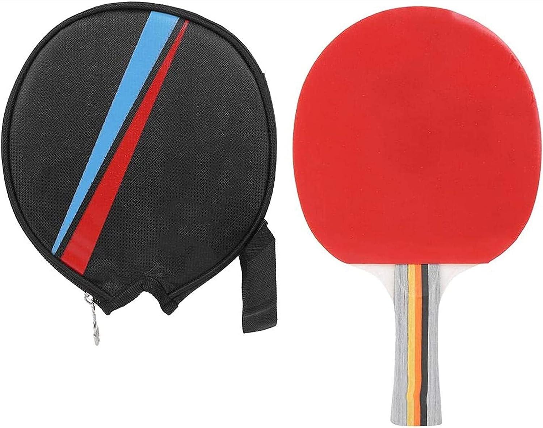 ZFQZKK Equipo de Deporte de Tenis de Mesa Equipo Deportivo Pong Paddle Entrenamiento para Jugadores de Tenis de Mesa Juego de Ping Pong